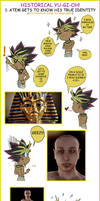 Historical Yu-Gi-Oh!: Atem - Tutankhamen by MR-Artz
