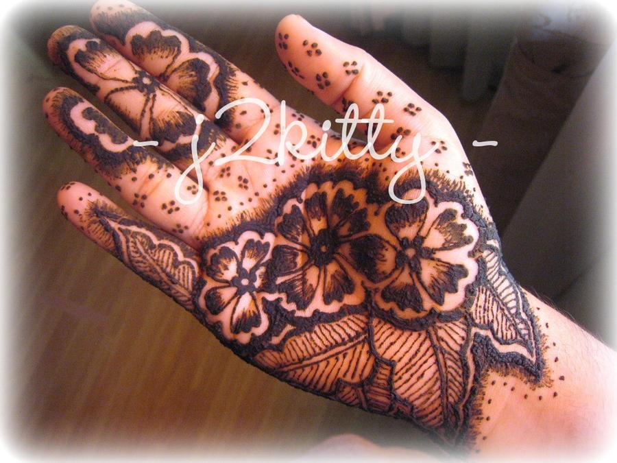 Mehndi Flower Bunch : Henna bunch of flowers by j kitty on deviantart