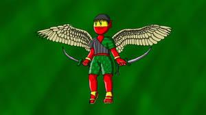 Revered Tengu Pjo by barefootZanko
