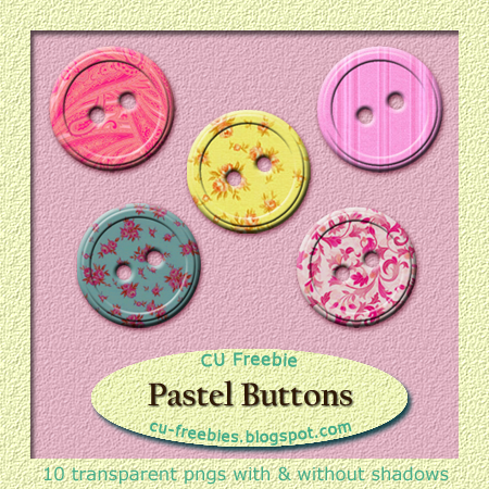 Pastel Buttons by Kathery
