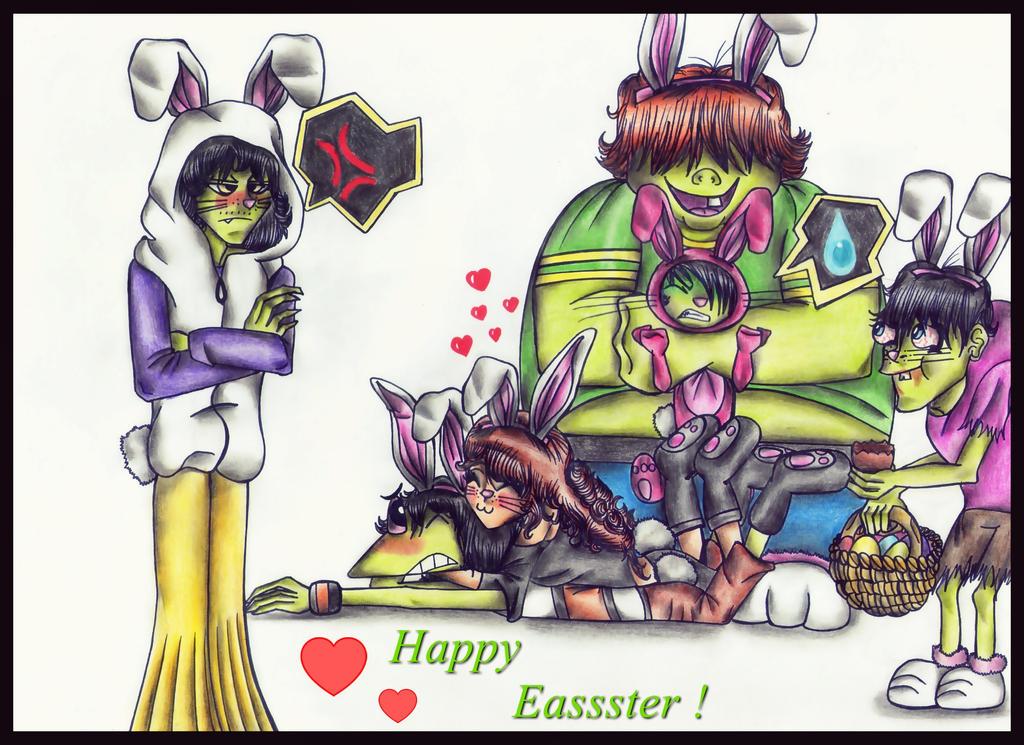 Happy Eassster ! by MrsxSnake