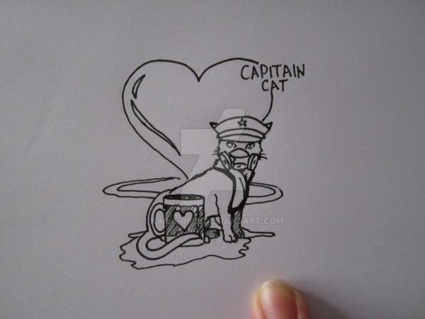 Capitain Cat (boceto) by Kaila-Rips