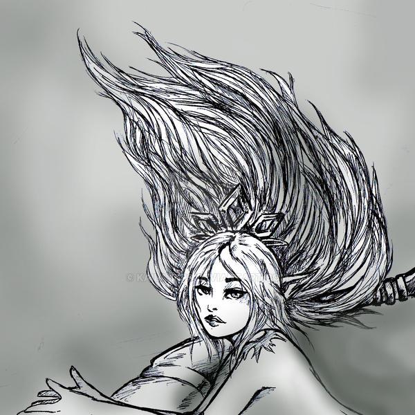 Janna (detalle) by Kaila-Rips