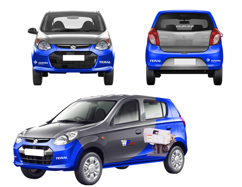 Suzuki alto sticker by midminds
