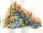 Sketch castle