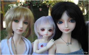 Trio by Llrael