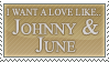 .:Johnny + June--Stamp:. by Selective-Yellow