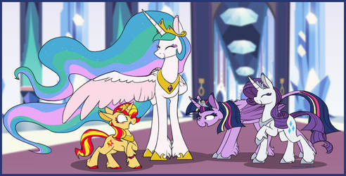 shimmer verse: so many princesses by Selective-Yellow