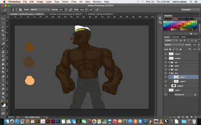 work in progress by katamatic