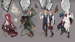 [ADOPTABLE : CLOSED] TIME to TALEs