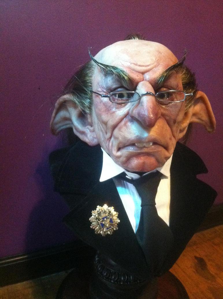goblin bust by Matthew-J-Black