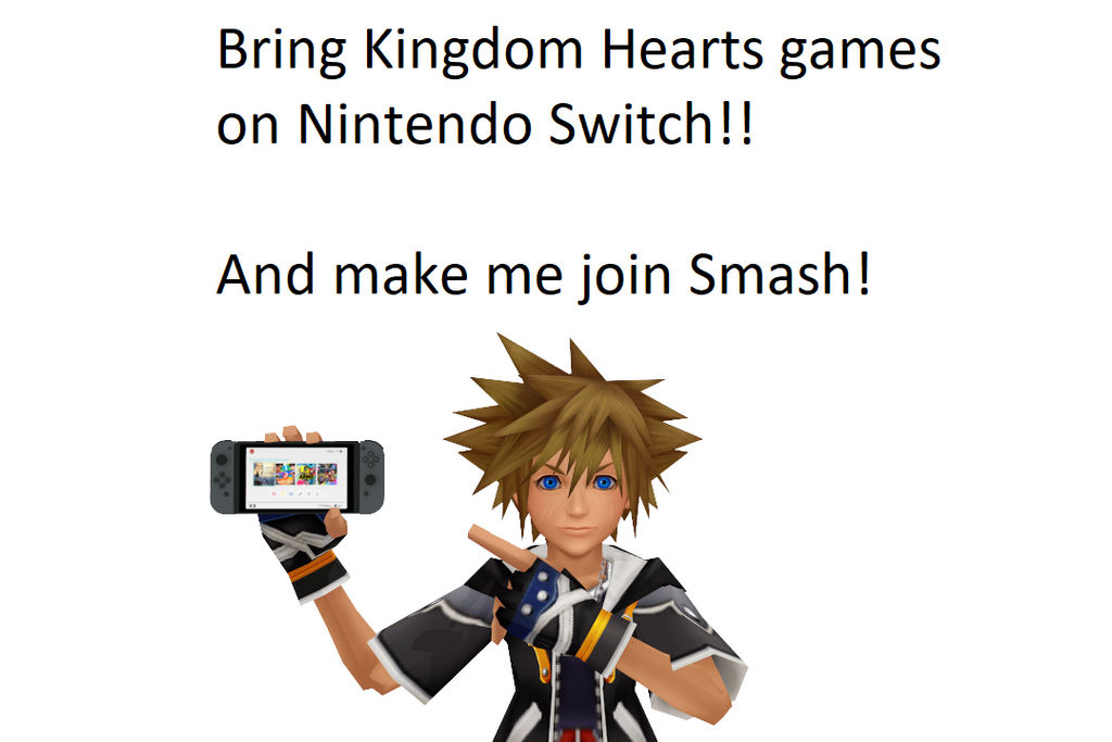 Sora wishes be on Nintendo Switch
