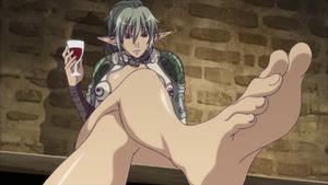 Echinda's feet by Nintendorak