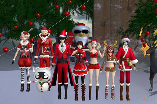 Merry Christmas from the Phantom Thieves