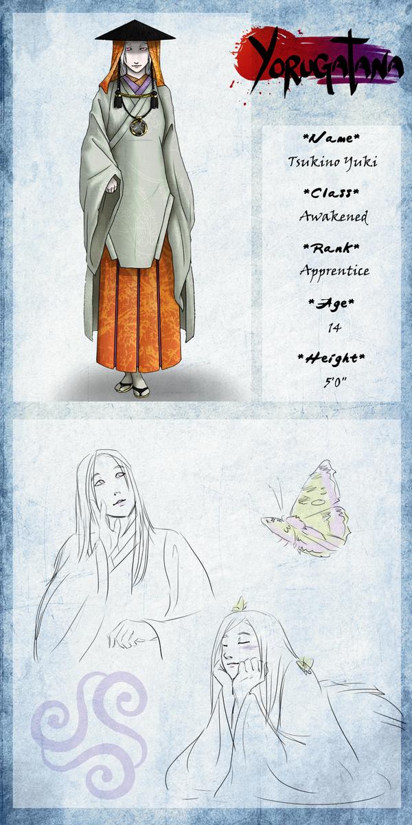 Yorugatana: Tsukino Yuki by Helix-Wing