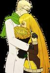 Rose hug