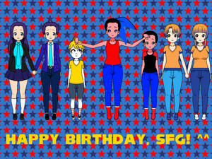 Happy Birthday, SFG! ^^