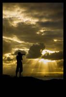 Shooting Rays of Light by LukeAustin