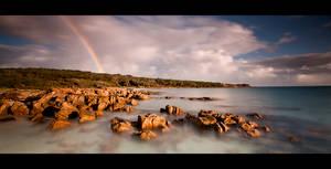 Castle Rock Beach- Dunsborough by LukeAustin