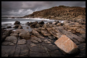 A rock and a hard place by LukeAustin