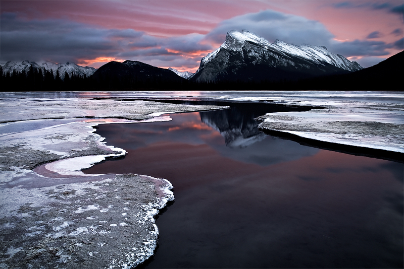 Mt Rundle - Banff by LukeAustin