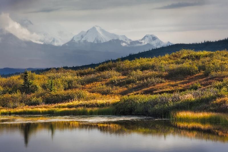 Reflection Pond - Alaska by LukeAustin