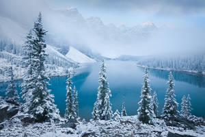 Patience - Moraine Lake by LukeAustin