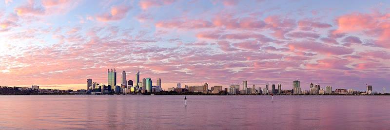 Perth City - Under a Summer Sky