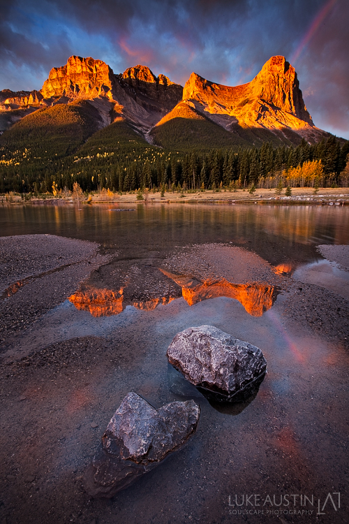 Haling Peak Ablaze by LukeAustin