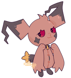 Banette/Pichu Adopt (HOLD)