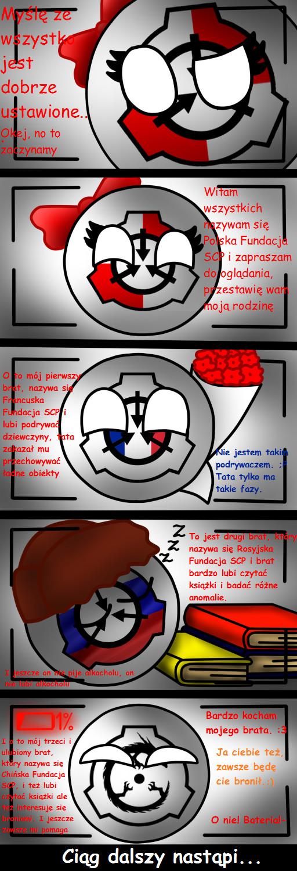 GOIBALL Comic PL: Rodzina Fundacji SCP by Czew