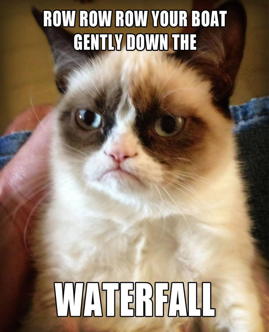 Grumpy Cat sings Row Row Row Your Boat by Cthulhu1976