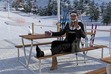 Ski aftermath