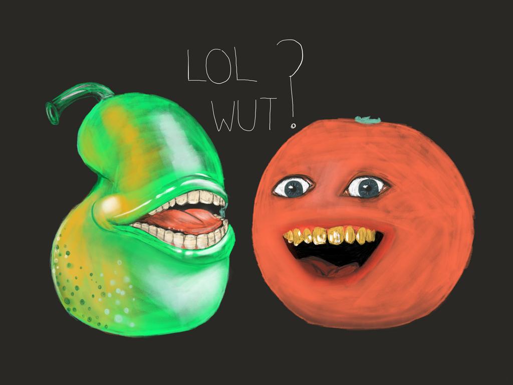 Annoying Orange Blue