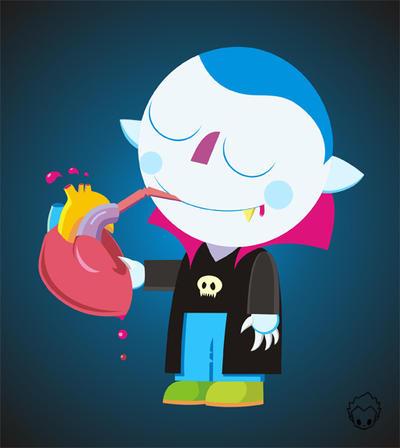 Little Vampire by Camilo-Otalora