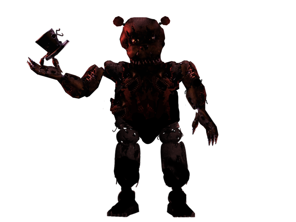 Nightmare Freddy (Full Body Shot) by gboypalodia on DeviantArt