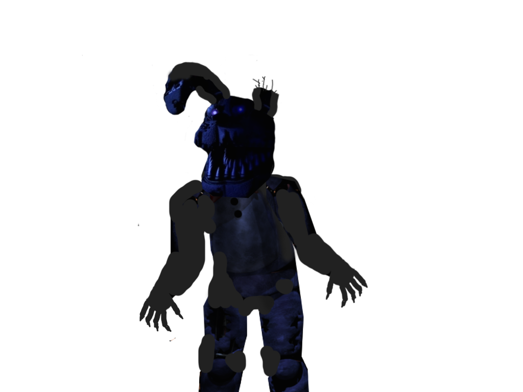 Nightmare Bonnie (Full Body Shot) by gboypalodia on DeviantArt