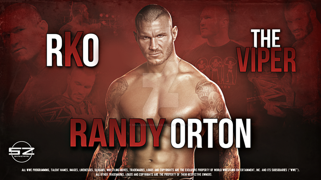 WWE Randy Orton Wallpaper By ShahzamanAbbasi