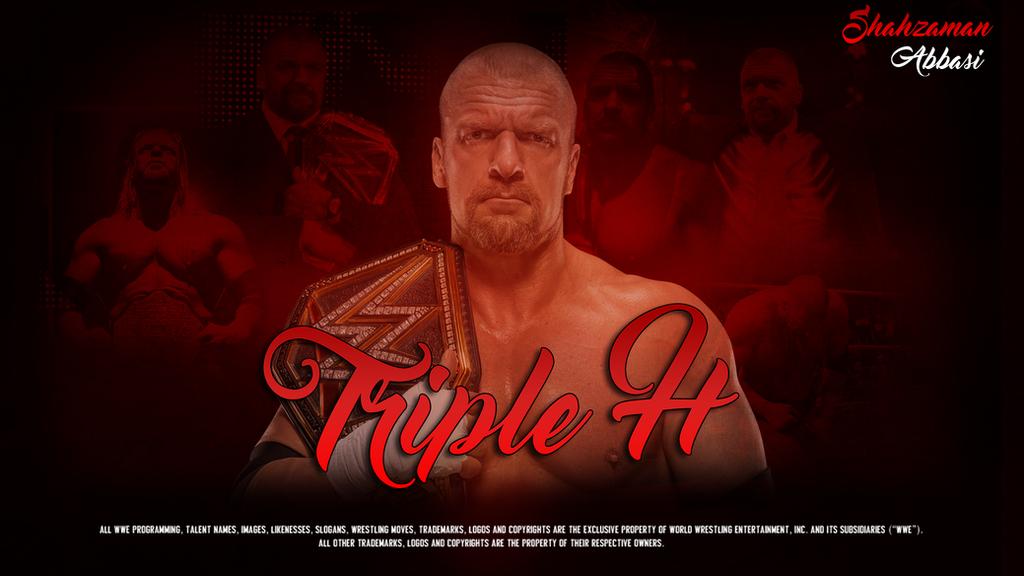WWE Triple H Wallpaper By ShahzamanAbbasi
