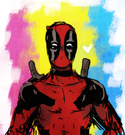 Deadpool Pride by DippinDot-Doodles