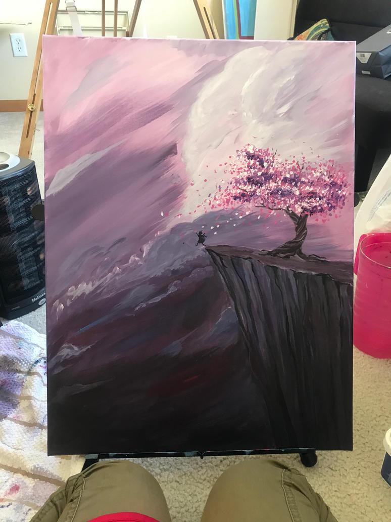 Leap of faith by Purple-Pisces
