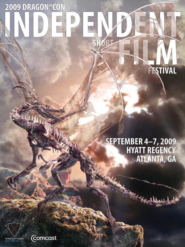 Dragon Con Film Fest Poster by Ahyicodae