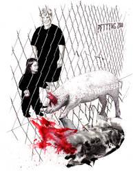 Pig meets murderer