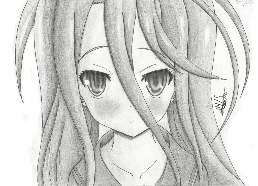 Shiro. Anime: No Game No Life By Hayabusa97 On DeviantArt