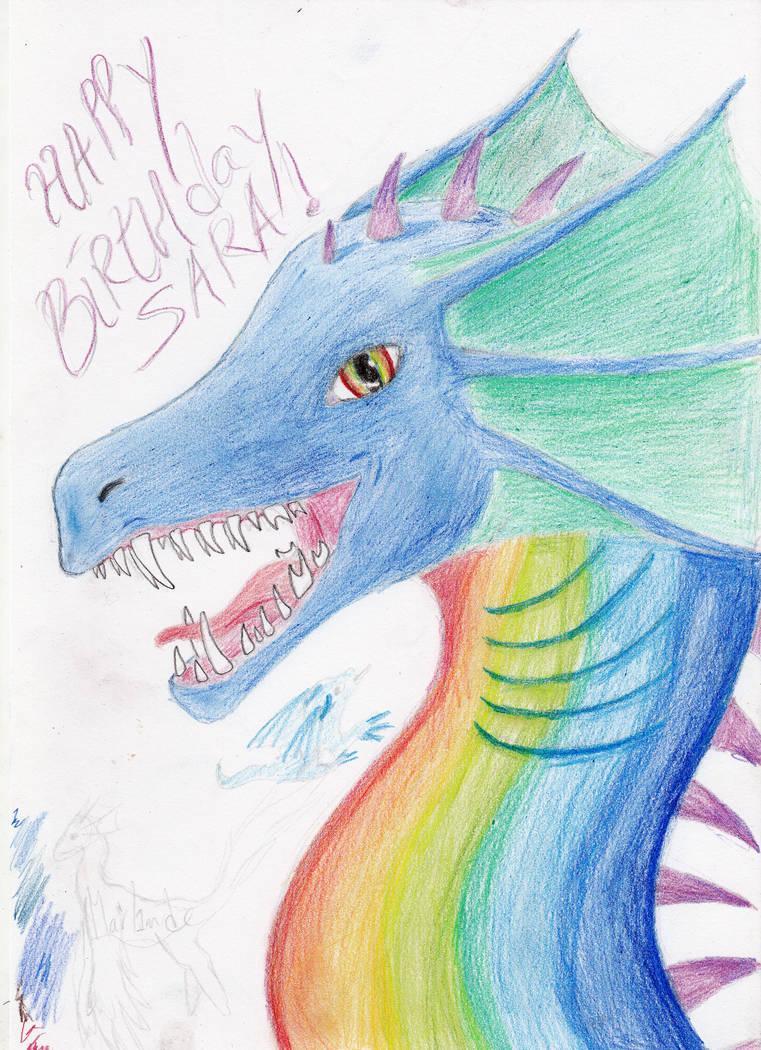 aquatic rainbow by Marl1nde