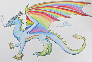 [C] Domas the Dank Dragon by Marl1nde