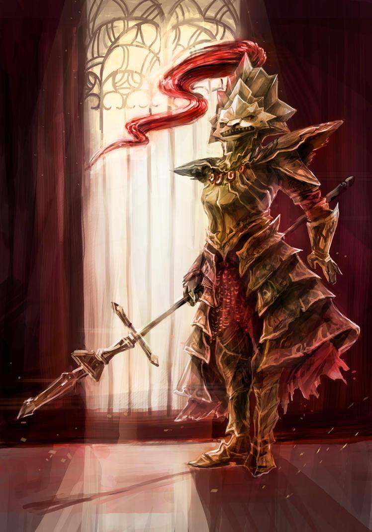 Ornstein the Dragon Slayer by Pirozhochek