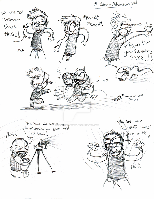 ghost adventures fun comic by dragonmagic94 on deviantart