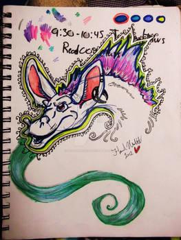 Dubstep Hipster Magic Dragon