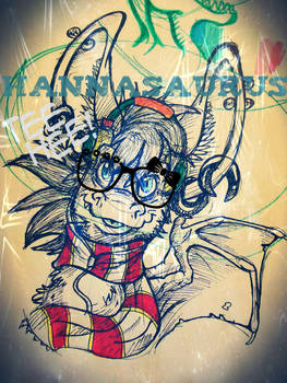 hipster bunny dragon guy